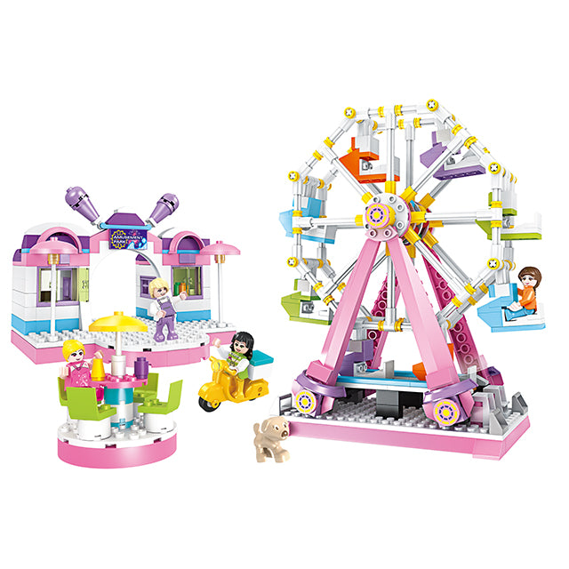 sky wheel brick toys for girl-1