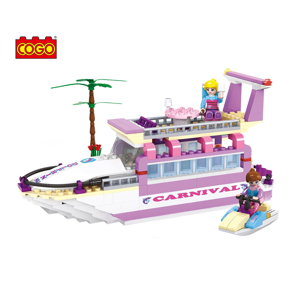 luxury boat model block toys-6