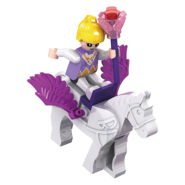 Princess party building block toys-4