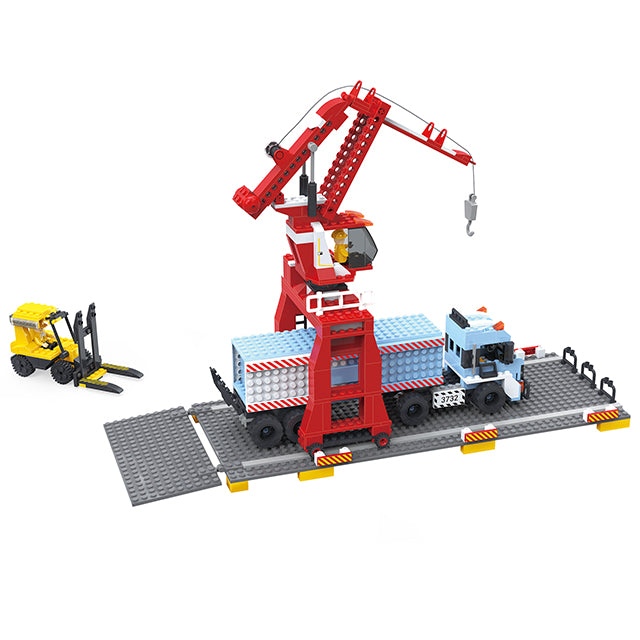 Popular engineering crane truck play toy-4