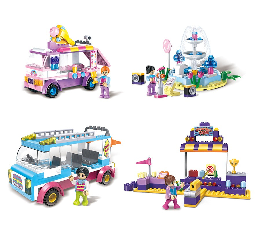 girls gift play bricks set-3