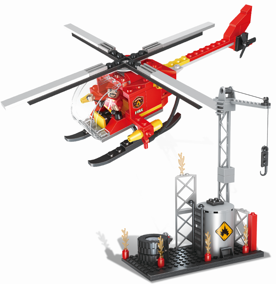 COGO fire series building block set-1
