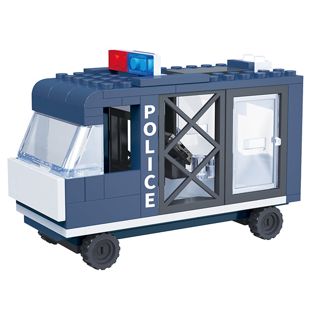 aBS police force blocks toy educational build blocks toys for kids-3