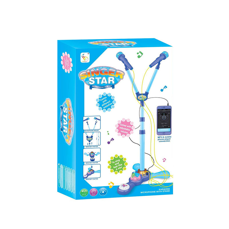 double microphone toy baby microphone toy-2