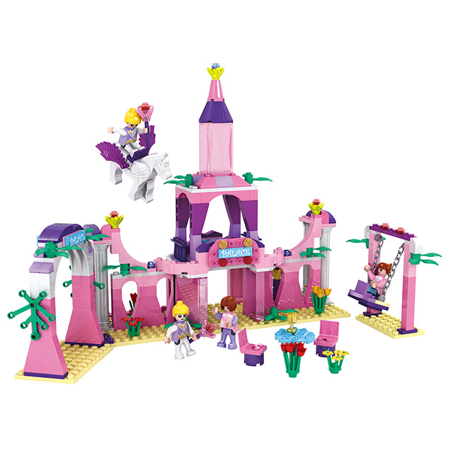 Princess party building block toys-5