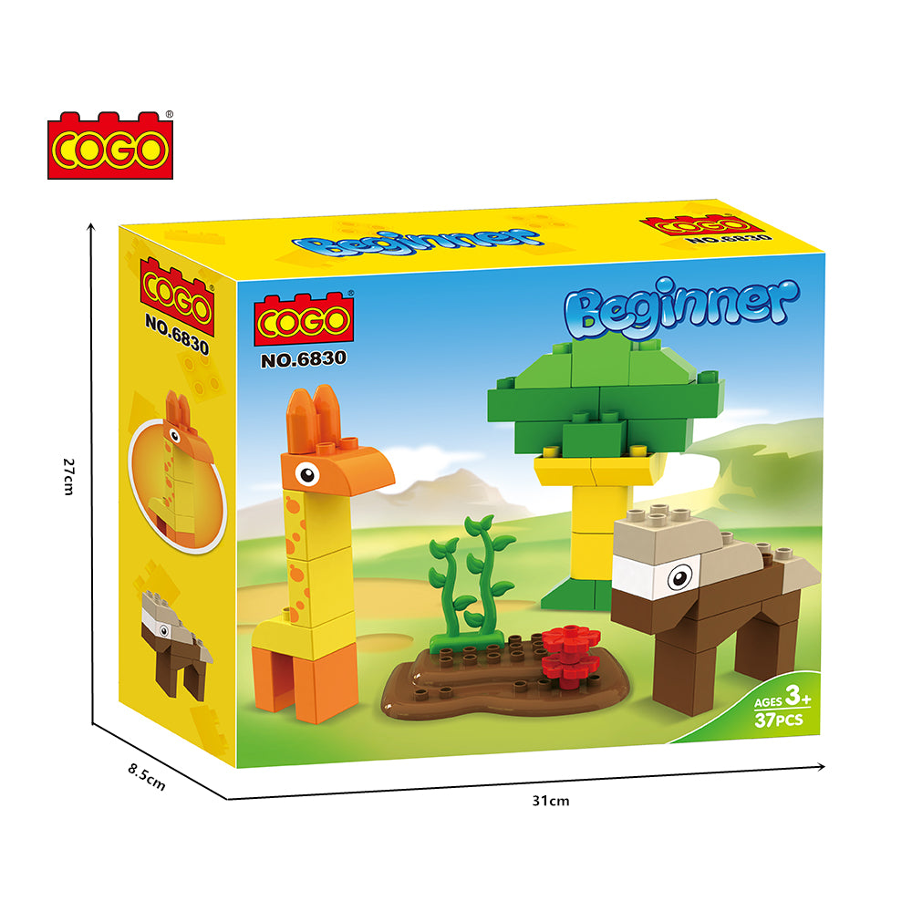 Large building block construction block toy educational building block Legoing Duplo-4