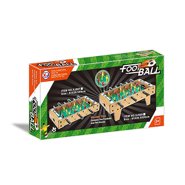 Wooden football soccer table indoor wooden foosball soccer game table toy-2