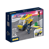 police car mini toy selling educational toys-2