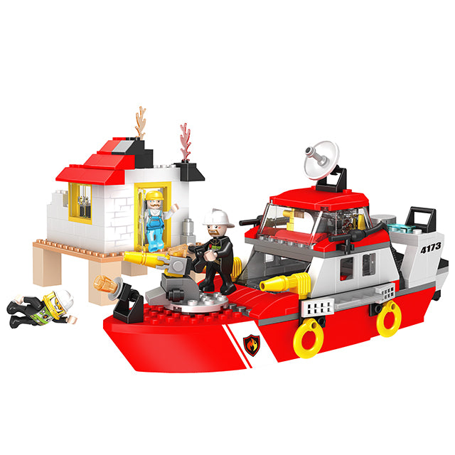 legoing city series building block toys-1