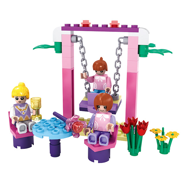 Princess party building block toys-1