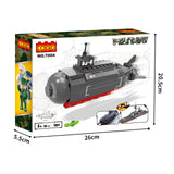 plastic military series puzzle building block toy set-5