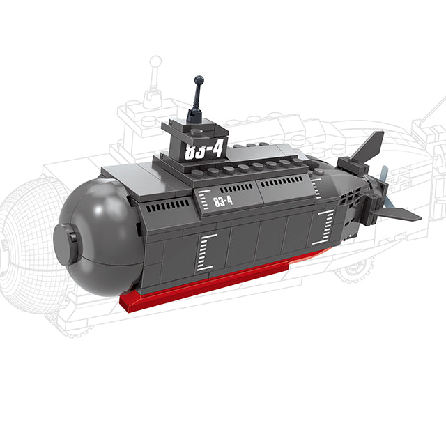 submarine ship model toys-1