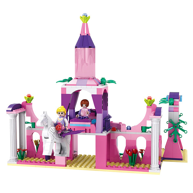 Princess party building block toys-2