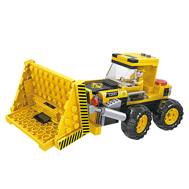 Popular 3 in 1 combination engineering crane truck play toy kit-1