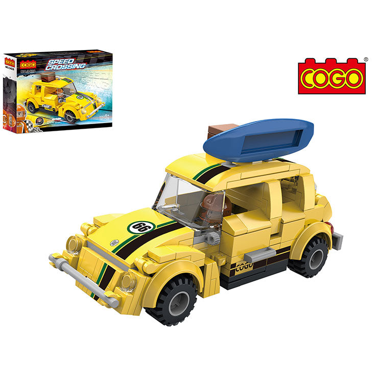 Building blocks toys car