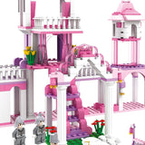 diy princess building block set