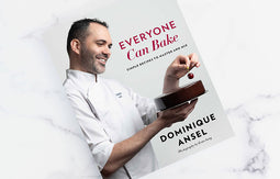 Dominique Ansel Everyone Can Bake cookbook -autographed