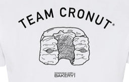 DA Team Cronut T-shirt close up
