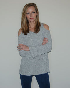Lucia Cold Shouder Sweater