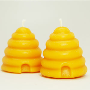 Beeswax Candle - Small Skep