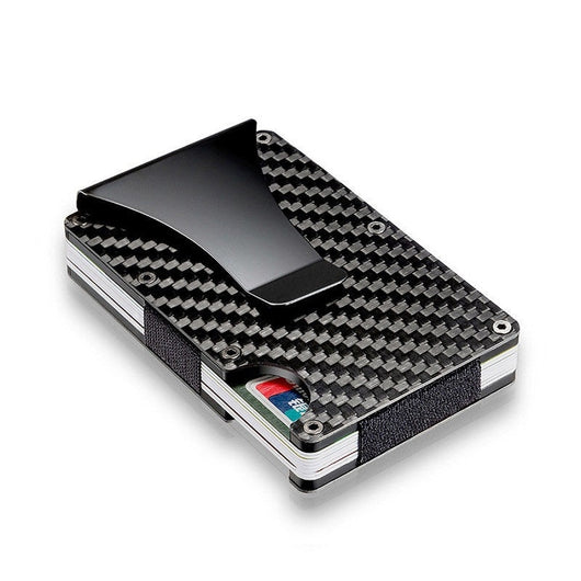 Ultra-Thin Metal Clip Wallet