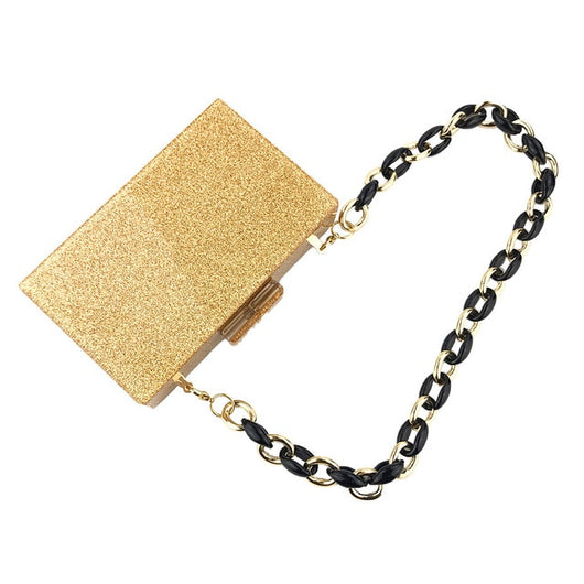 Luxury Gold Evening Bag