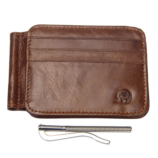 Genuine Leather Wallets Men