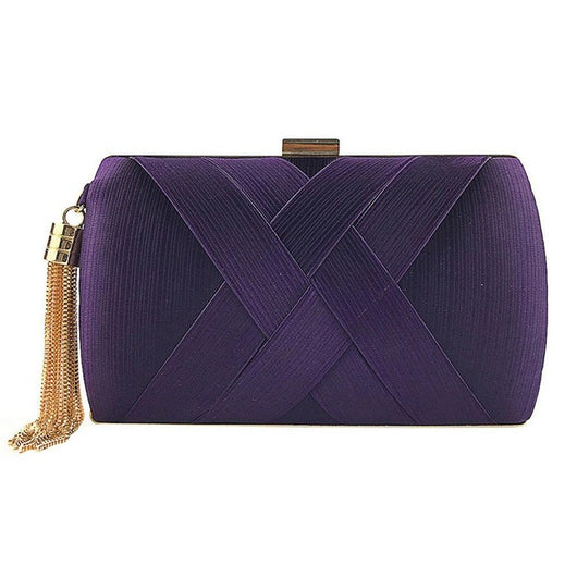 Women Fashion Tassel Clutches
