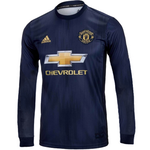 Original Manchester United Full Sleeve Champions League Edition 3rd Jersey 2018-19 [Superior Quality]