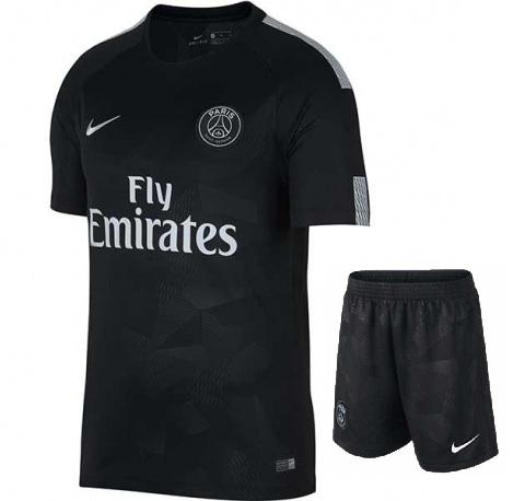 Original PSG Premium 3rd Jersey & Shorts [Optional] 2017-18