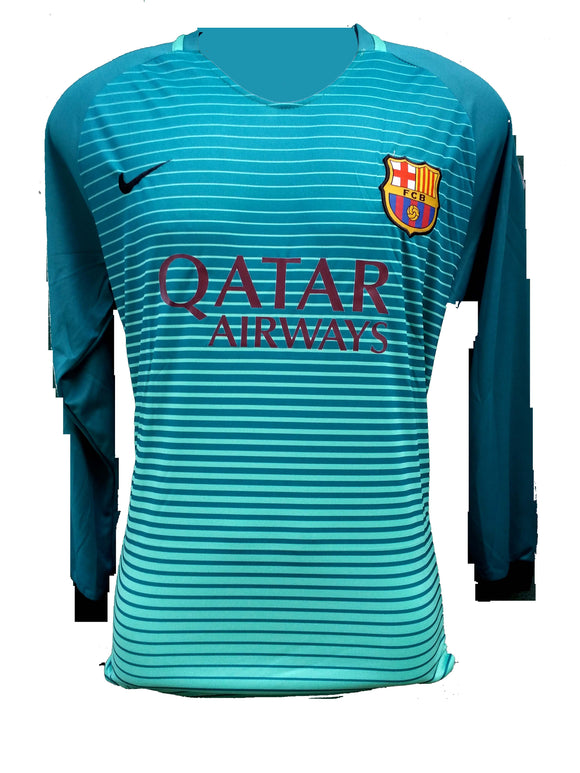 Barcelona Full sleeve Football Jersey & Shorts