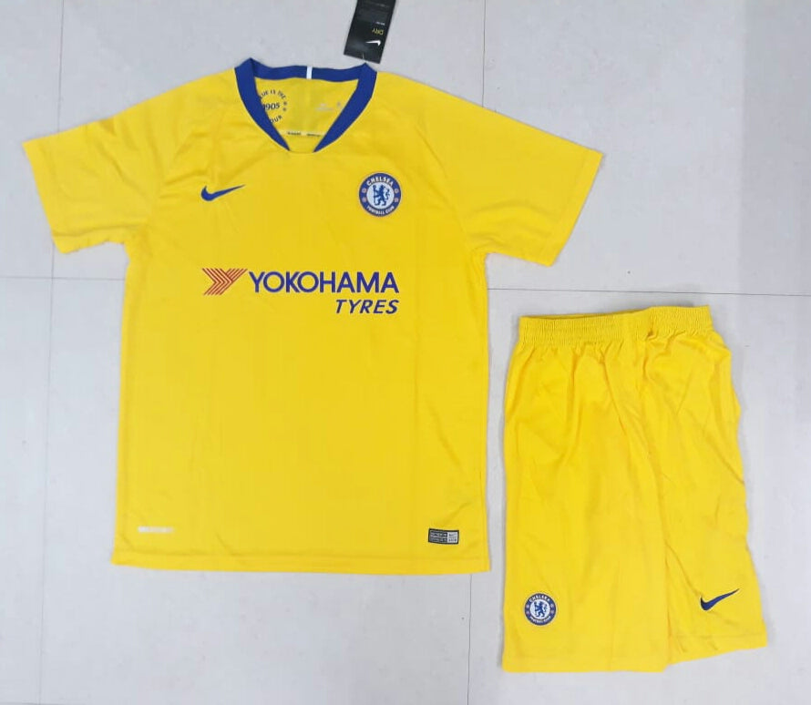 680b3f843d2 ... Original Chelsea Premium Away Jersey and Shorts [Optional] 2018-19 ...