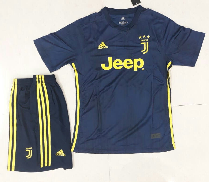 f4194994534 ... Original Juventus Premium 3rd Jersey and Shorts  Optional  2018-19 ...