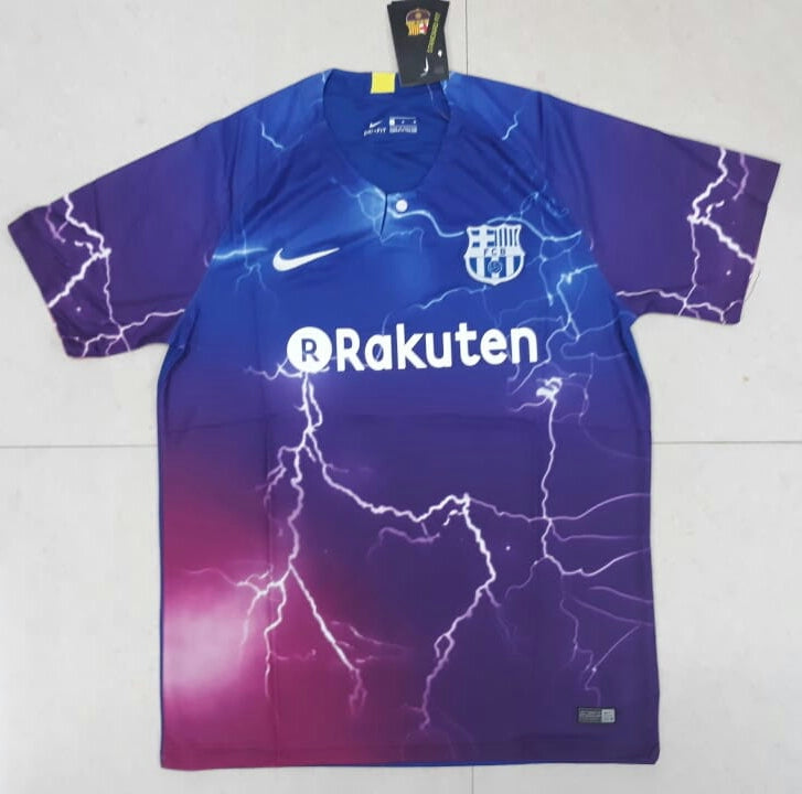 best authentic 2ffd0 a88b4 Original Barcelona Electric Blue Special Edition Jersey [Superior Quality]