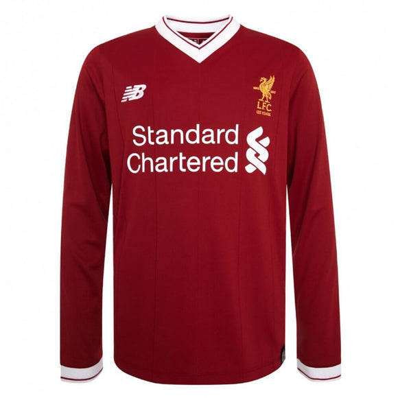 Liverpool Home Football Full Sleeve Jersey & Shorts