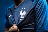 Original World Cup 2018 Champions 2 Star France Premium Home Jersey & Shorts