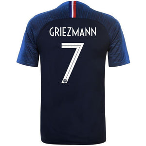 c2736a8af4f Griezmann France Jersey FIFA World Cup 2018 replica kit online India ...