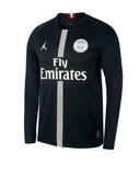 Original Jordan X Black PSG Full Sleeve Champions League Edition Jersey  2018-19 [Superior Quality]