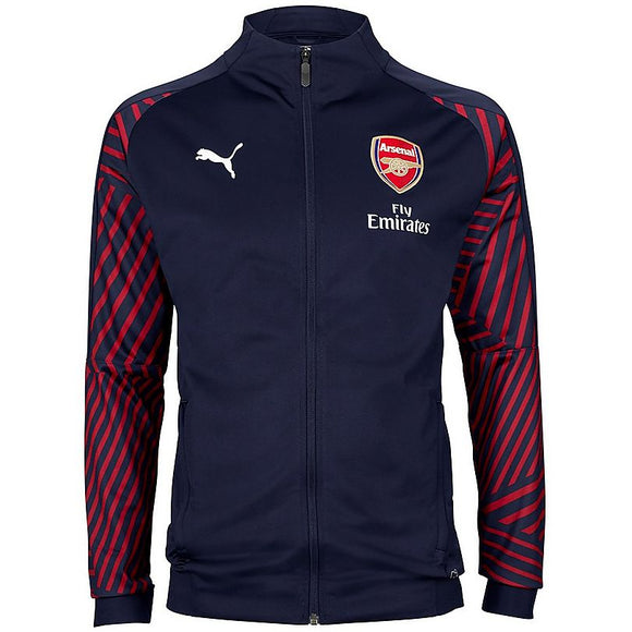 Original Arsenal Premium Zipper Blue 2018-19
