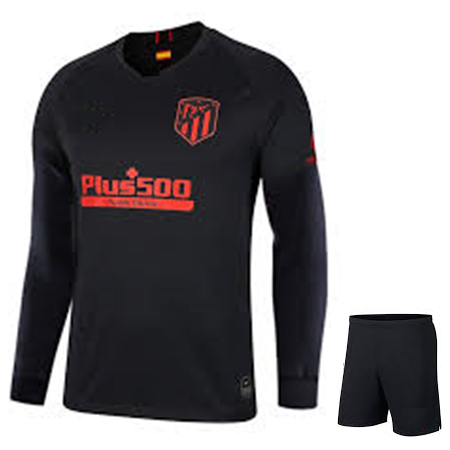 Original Atletico Madrid Premium Away Full Sleeve Jersey & Shorts [Optional] 2019/20