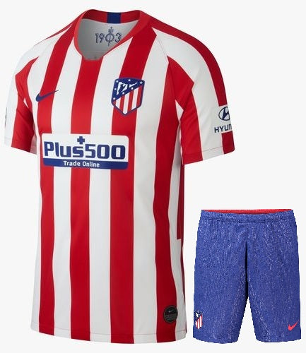 Original Atletico Madrid Premium Home Jersey & Shorts 2019/20