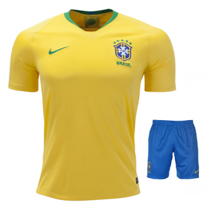 Brazil Home Jersey & Shorts FIFA World Cup 2018