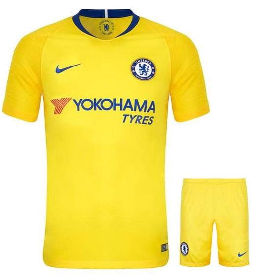 Original Chelsea Premium Away Jersey and Shorts [Optional] 2018-19