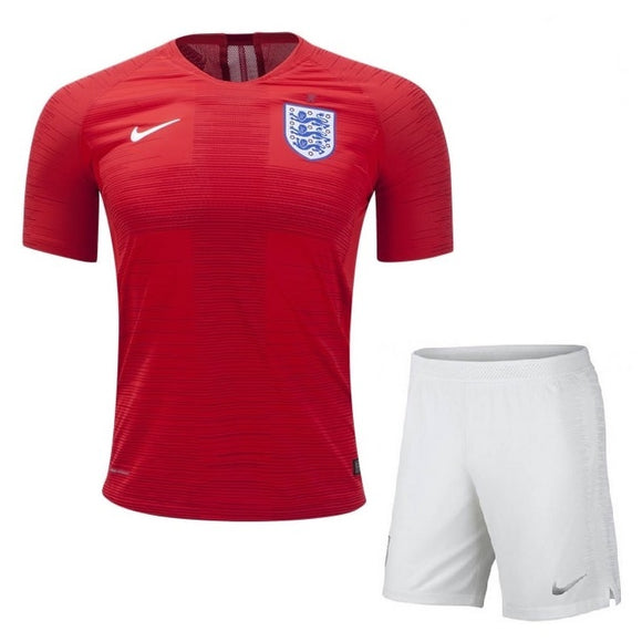 Boys Original England Premium Away Jersey & Shorts World Cup 2018