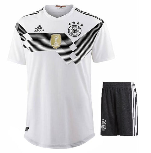 Original Germany Premium Home Jersey & Shorts [Optional] World Cup 2018