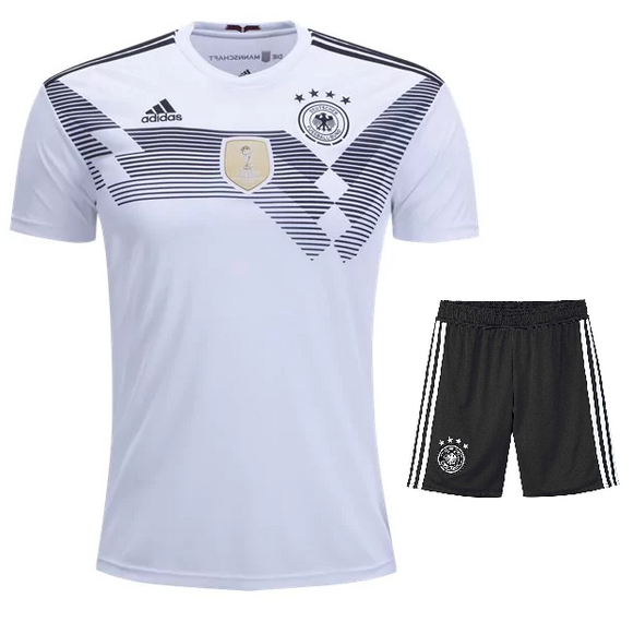 Germany Home Jersey & Shorts FIFA World Cup 2018