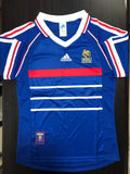 Retro Original France Home Jersey World Cup 1998 [Superior Quality]