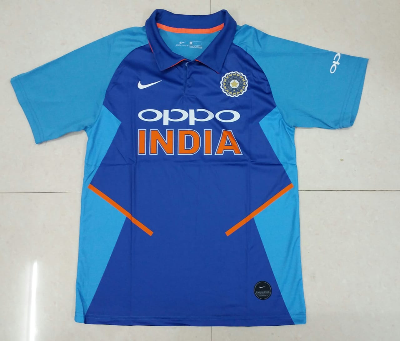 new products b117d 03d56 India international Cricket Jersey World Cup 2019