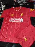 Original Mo Salah Liverpool Premium Home Jersey and Shorts [Optional] 2019/20