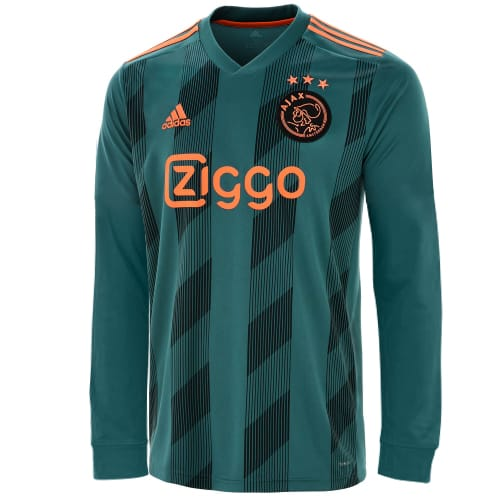 Original Ajax Full Sleeve Premium Away Jersey & Shorts [Optional] 2019/20